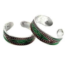 High Work Quality !! 925 Sterling Silver Toe Rings