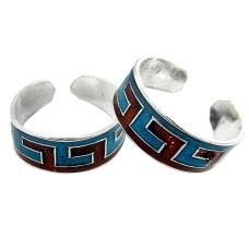 Classy Design !! 925 Sterling Silver Toe Rings