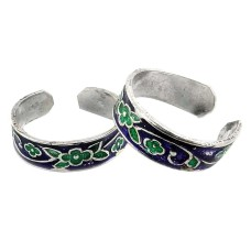 Big Excellent ! 925 Sterling Silver Toe Rings
