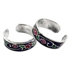 Big Grand Love ! 925 Sterling Silver Toe Rings