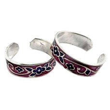Blue Passion ! 925 Sterling Silver Toe Rings