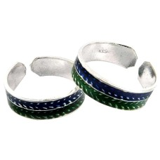 Bright Side ! 925 Sterling Silver Toe Rings