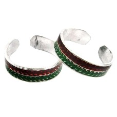 California Style ! 925 Sterling Silver Toe Rings