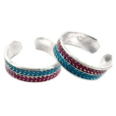Chunky ! 925 Sterling Silver Toe Rings