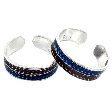 Circle Of Hope ! 925 Sterling Silver Toe Rings