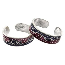 Daisy Moss ! 925 Sterling Silver Toe Rings