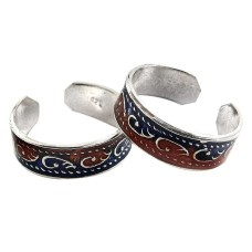 Dream Day ! 925 Sterling Silver Toe Rings
