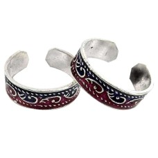 Classy Style ! 925 Sterling Silver Toe Rings