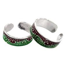 Secret Design ! 925 Sterling Silver Toe Rings