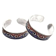 Big Royal Style ! 925 Sterling Silver Toe Rings