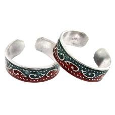 Big Secret Design ! 925 Sterling Silver Toe Rings
