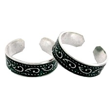 Victorian Style ! 925 Sterling Silver Toe Rings