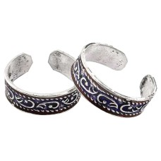 Just Perfect ! 925 Sterling Silver Toe Rings