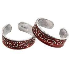 Secret ! 925 Sterling Silver Toe Rings