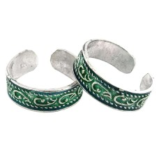 Natural ! 925 Sterling Silver Toe Rings