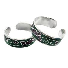 Lavender Dreams ! 925 Sterling Silver Toe Rings