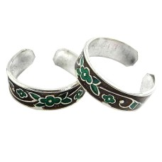 Gorgeous ! 925 Sterling Silver Toe Rings