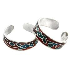 Royal ! 925 Sterling Silver Toe Rings
