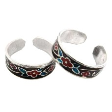 Stylish ! 925 Sterling Silver Toe Rings