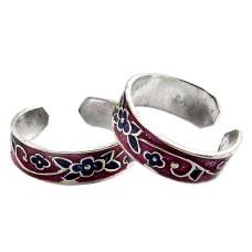 A Secret!! 925 Sterling Silver Toe Rings
