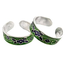 Gorgeous Design ! 925 Sterling Silver Toe Rings