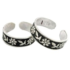 Very Delicate ! 925 Sterling Silver Toe Rings