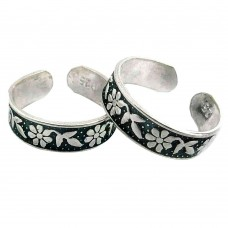 Beautiful ! 925 Sterling Silver Toe Rings