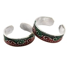 Beautiful Design ! 925 Sterling Silver Toe Rings