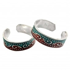 Paradise Bloom ! 925 Sterling Silver Toe Rings