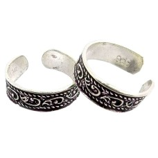 Misty Morning ! 925 Sterling Silver Toe Rings