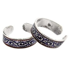 Lovely ! 925 Sterling Silver Toe Rings