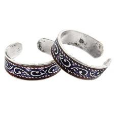 Lovely ! 925 Sterling Silver Toe Rings