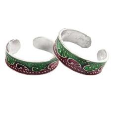 Briliance ! 925 Sterling Silver Toe Rings