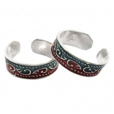 Fashion Design ! 925 Sterling Silver Toe Rings