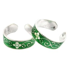 Stylish Design ! 925 Sterling Silver Toe Rings