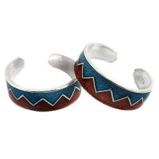 Maya Freedom ! 925 Sterling Silver Toe Rings