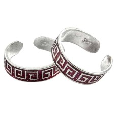 Paradise Lantern ! 925 Sterling Silver Toe Rings