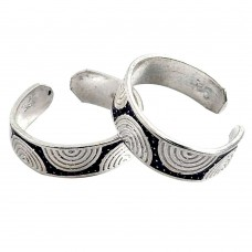 Large ! 925 Sterling Silver Toe Rings
