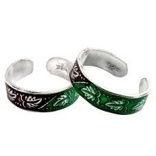 A Secret! 925 Sterling Silver Toe Rings