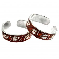 Abstract! 925 Sterling Silver Toe Rings