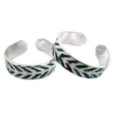 Breathtaking! 925 Sterling Silver Toe Rings