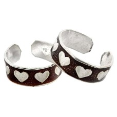 Corrico Lake! 925 Sterling Silver Toe Rings
