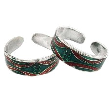Hot! 925 Sterling Silver Toe Rings
