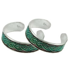 925 Sterling Silver Indian Jewelry Traditional Handmade Toe Rings