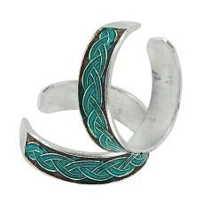 Sterling Silver Fashion Jewelry High Polish Handmade Toe Rings