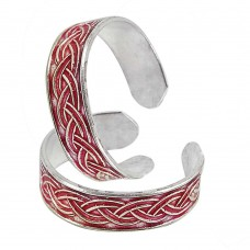 925 Sterling Silver Jewelry Charming Handmade Toe Rings