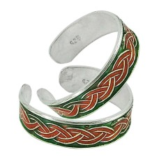 925 Sterling Silver Jewelry Traditional Handmade Toe Rings