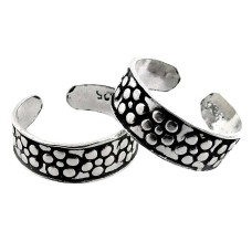 Large Fashion! 925 Sterling Silver Toe Rings