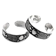 Stylish! 925 Sterling Silver Toe Rings