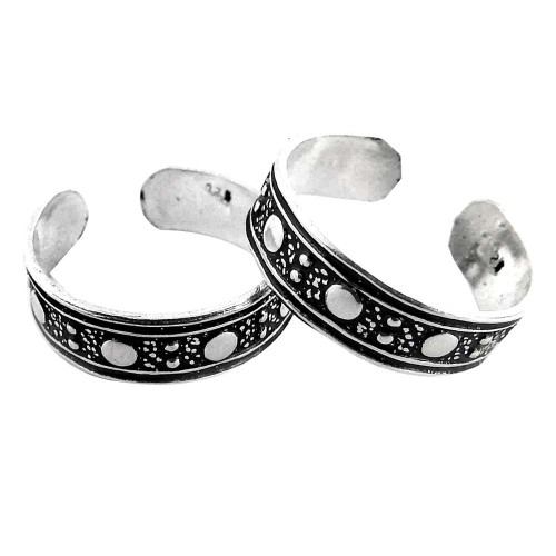 Kiss! 925 Sterling Silver Toe Rings